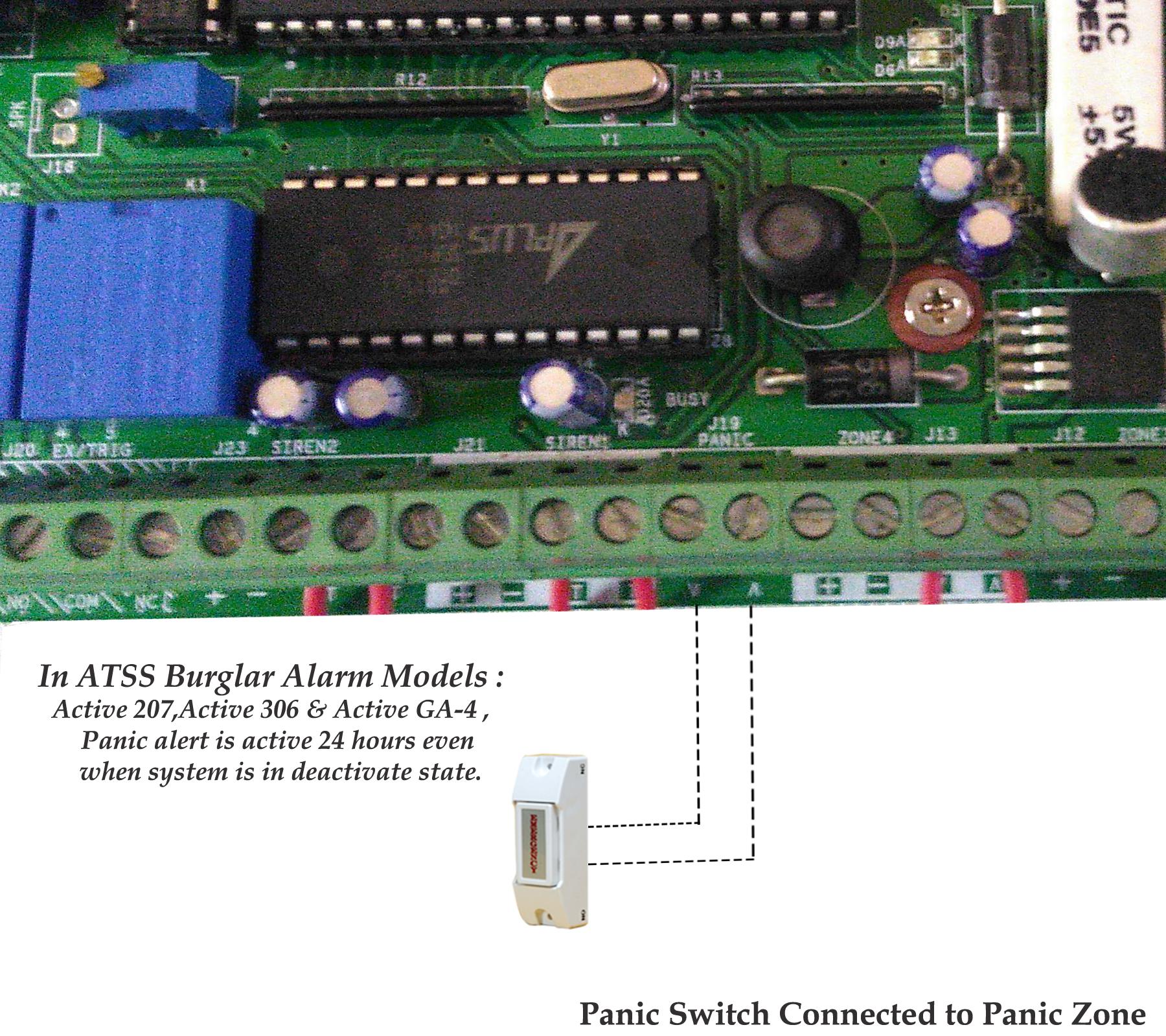 Panic Alarm System Manufacturer India Security Alarm